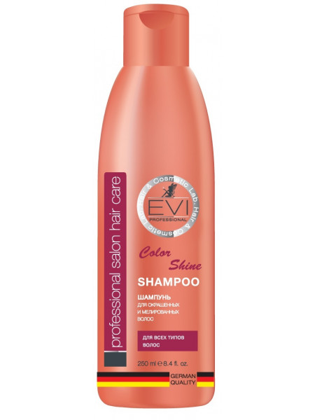 «EVI» Professional Шампунь «Интенсивный уход»  для  окрашенных  и  меллированных  волос. 250 мл